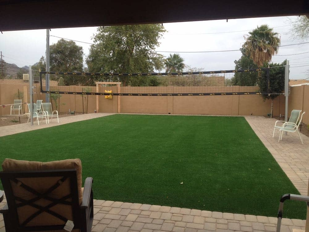 Backyard Recreation Volleyball