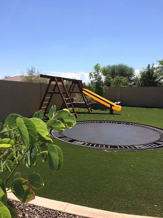 Residential Artificial Turf Play Yards